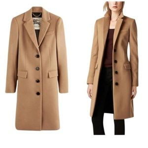 Burberry London tailored wool cashmere coat jacket